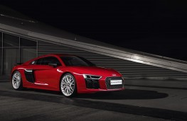 Audi R8, red, front