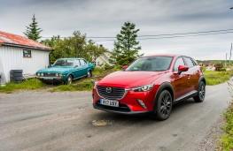 Mazda CX-3, 2017, front, static