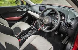 Mazda CX-3, 2017, interior