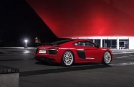 Audi R8, red, side