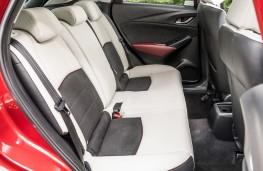 Mazda CX-3, 2017, rear seats