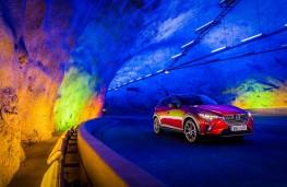 Mazda CX-3, 2017, tunnel