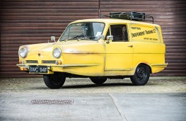 Del Boy's Reliant Regal, front