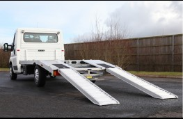 Citroen Relay car transporter, 2017, ramps