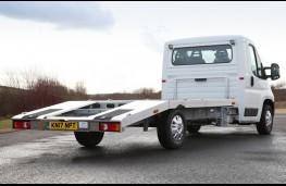 Citroen Relay car transporter, 2017, rear