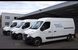 Renault Master, Alliance Healthcare