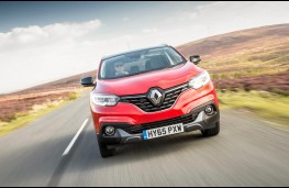 Renault Kadjar, full front action