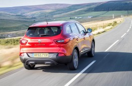 Renault Kadjar, rear action
