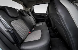 Renault Zoe 2020 rear seats