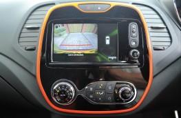 Renault Captur, dash detail