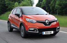 Renault Captur, front action