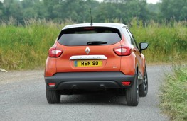 Renault Captur, rear action