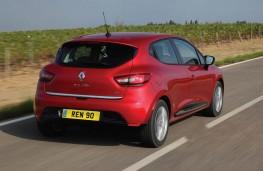 Renault Clio, rear action