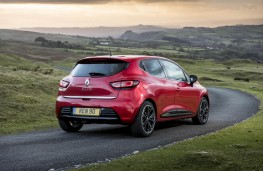Renault Clio, rear action