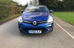 Renault Clio, front