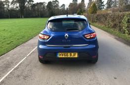 Renault Clio, rear