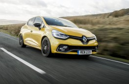 Renault Clio RS, front action