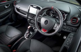 Renault Clio RS, dashboard