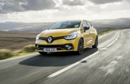 Renault Clio RS, front action 2