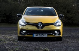 Renault Clio RS, full front static