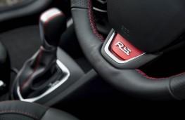 Renault Clio RS, steering wheel