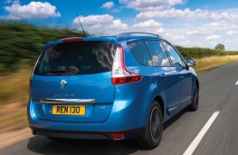 Renault Grand Scenic, rear action