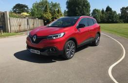 Renault Kadjar, front