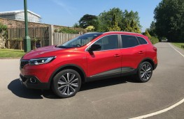 Renault Kadjar, side