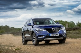 Renault Koleos, front action 2