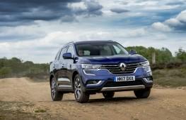 Renault Koleos, front action 2