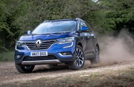 Renault Koleos, front action