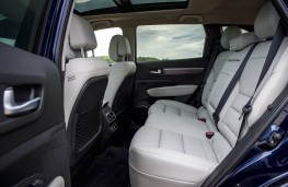 Renault Koleos, rear seats