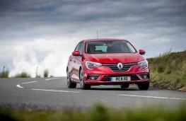 Renault Megane, front action