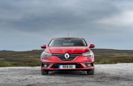 Renault Megane, full front static