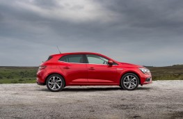 Renault Megane, side static