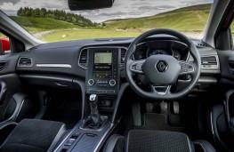 Renault Megane dCi, dashboard