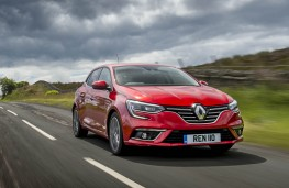 Renault Megane dCi, front action