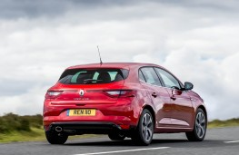 Renault Megane dCi, rear action