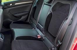 Renault Megane dCi, rear seats