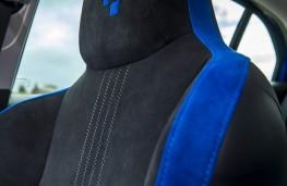 Renault Megane GT, seat detail