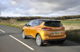 Renault Scenic, rear action