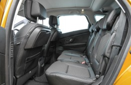Renault Scenic, rear seat