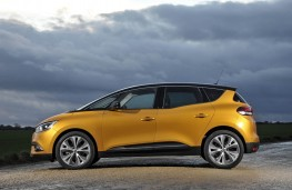 Renault Scenic, side static