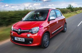 Renault Twingo, front action 2