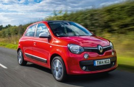 Renault Twingo, front action