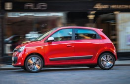 Renault Twingo, side action