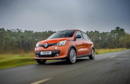 Renault Twingo GT, action front 2