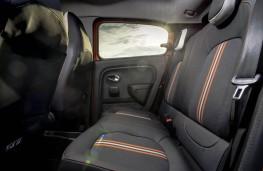 Renault Twingo GT, rear seat