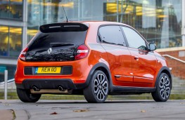 Renault Twingo GT, 2017, rear, static