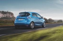 Renault Zoe 2018 rear action